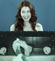 Felicia Day 1 (Tickling) by thulu