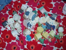 APH Papercraft Mania by Demmi-chan