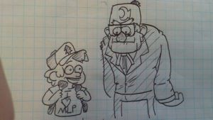 And so Gruncle Stan never spoke to Dipper again by Chongothedrawfriend