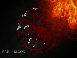 game of thrones tribute: Targaryen by Auramyu