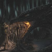 Met with a dragon by Theocrata