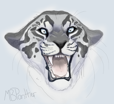Snarly Snarly Grr Face by MBPanther