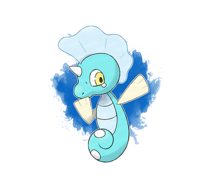 FKMN Commission - Water Starter by DevilDman