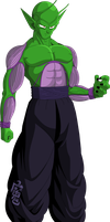 Piccolo (Saiyan Saga) MLL Redesign by OWC478