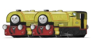 Bill and Ben by Train4755