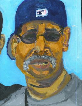 Self Portrait With Father 2 by Machaeroides