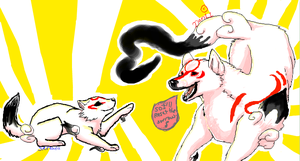 Okami.Den collab by NHLoveDani