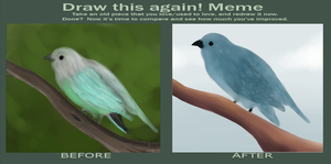 Birds: Draw this again by Nharlie