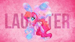 Untitled [Pinkie Pie WP] by UtterlyLudicrous