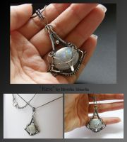 Eiric- wire wrapped necklace by mea00