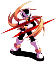 Zero is a ninja?Twin Blade ver by The-Corruption