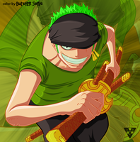 1 Piece. Roronoa Zoro by ButcherSonic