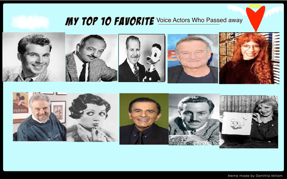 Top 10 VA Who Passed Away by SmoothCriminalGirl16