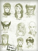 x men by dvirc