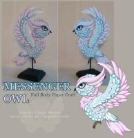 Messenger Owl by StrayaObscura