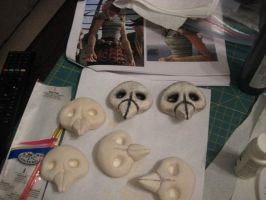 Astrid - WIP Costume - Skulls by msventress