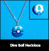 Dive Ball Necklace Charm by YellerCrakka
