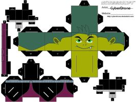 Cubee - Beast Boy by CyberDrone