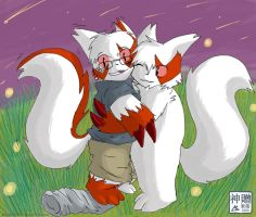 Zangoose Hug TF by Moofers-Mufa