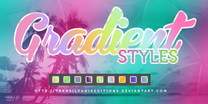 +Gradient Styles by TransilvaniaEditions