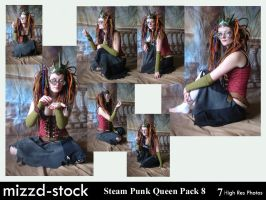 Steam Punk Queen Pack 8 by mizzd-stock