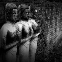 3 monks by PansaSunavee