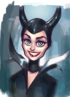 Maleficent by DaveJorel