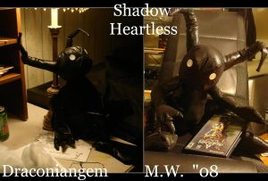 Lil Shadow Heartless - Plushie by draconiangem
