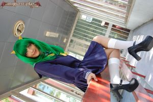 Lum at school- Urusei Yatsura by MoguCosplay