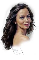 Emily Blunt by kenernest63a