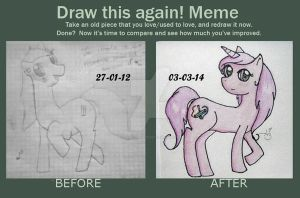 Before and after by AliceBlack19