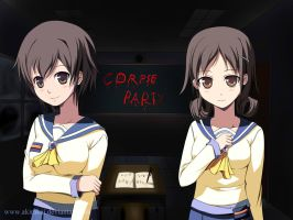 Corpse Party (Naomi and Seiko) by akirakai