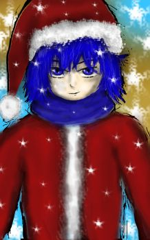 kaito christmas by 1meee-forever