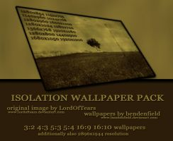 Isolation Wallpaper Pack by bendenfield
