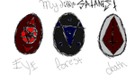 My little Satanist egg adoptables -SOLD OUT!- by Dysfunctional-H0rr0r