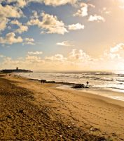 My Local Beach on Christmas Day... by Tigles1Artistry