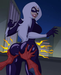 Blackcat: Booty Sense is Tingling by grimphantom