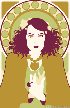 Florence Welch - Colour Block by crystal-kyogre