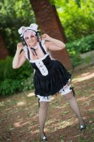Bunny Maid - Super Sonico by Quicky81