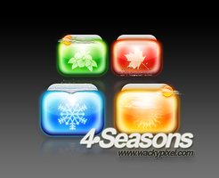 Four Seasons by wackypixel