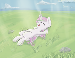 Celestia is resting... by NovaQuinmat