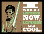 Lightsabers are cool by HamsterRage