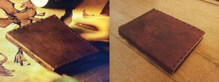 Hiccups Scetchbook Prop (How To Train Your Dragon) by DragonWorkshop-de