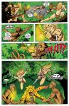 KaZar Comic Page 1 Colors by John-Curtis-Ryan