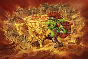 hearthstone-GOLD2014 by liuhao726