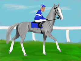 Tupan at the Tupan Stakes by silvershore