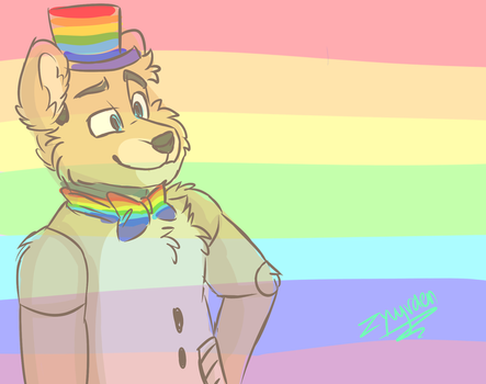 Pride month by zyvy-raen