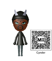 My Cynder The Dragon Mii by wererapter-nelson