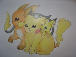 Pika family by Filly-Milly