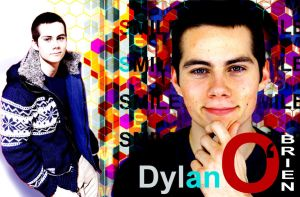 Dylan O'brien Confetti Wallpaper by YsCordelon